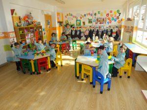 amplias y luminosas aulas de infantil